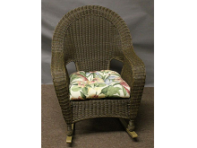 St Thomas Outdoor Wicker Rocker